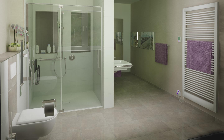 Altersgerechtes Badezimmer Bathroom Von Ing Fritz Bissert GmbH - Altersgerechtes badezimmer