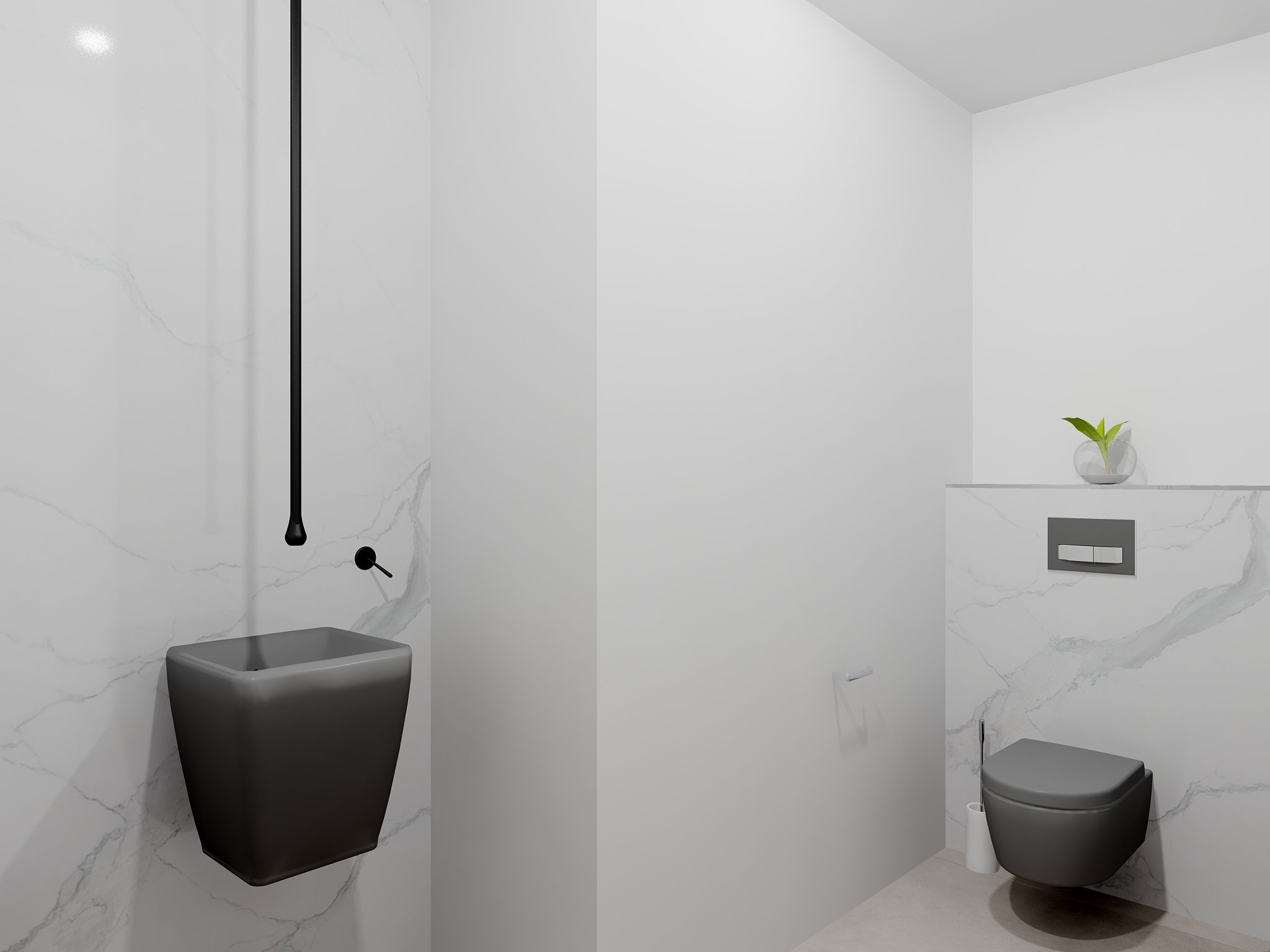 Mattout Carrelage WC INVITES V1 2 Bathroom By Mattout Carrelage ...