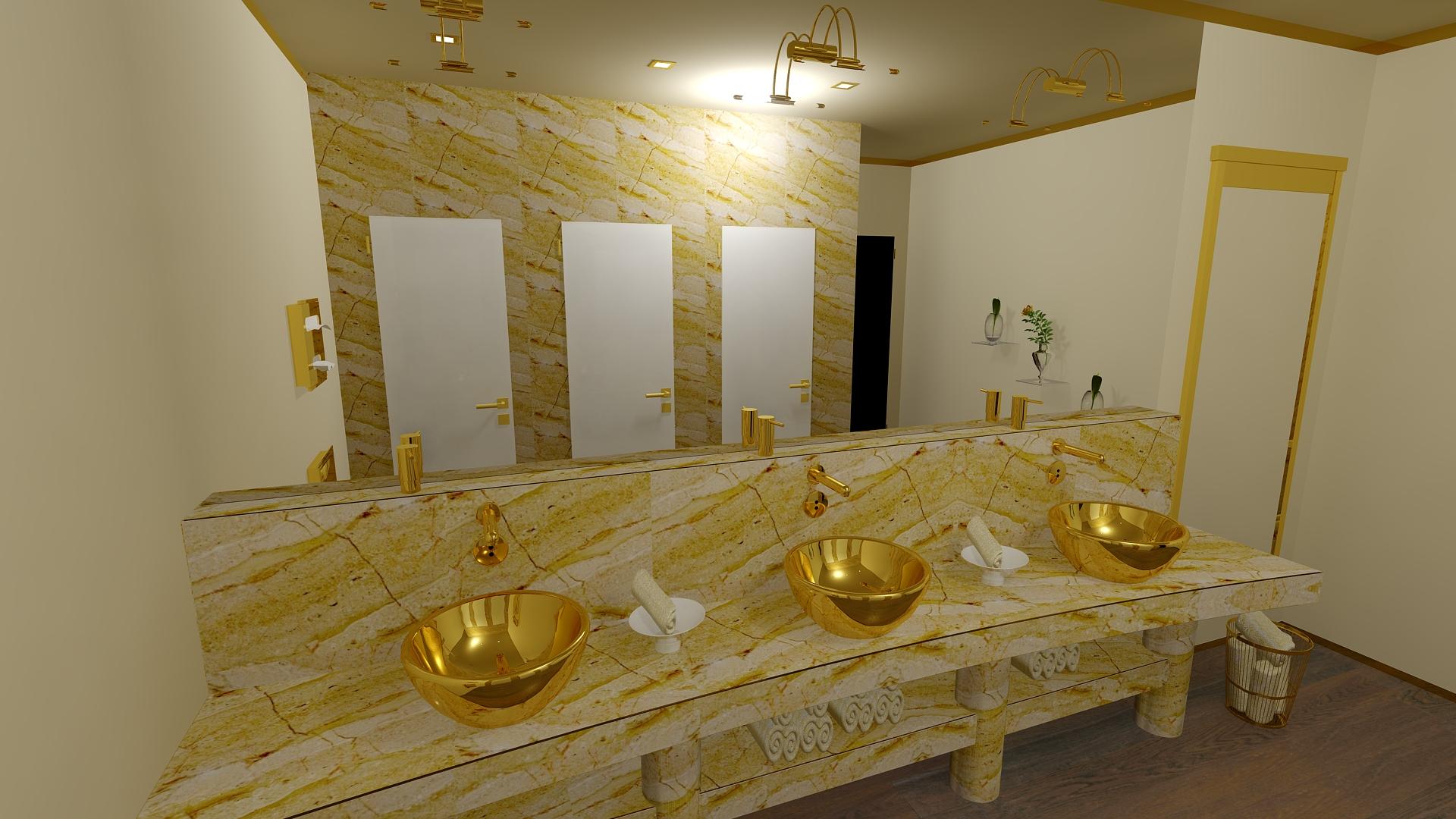 Gold-Hotel Damen WC PublicArea By Gerd Nolte Inh.R.Schumann(Gerd ...