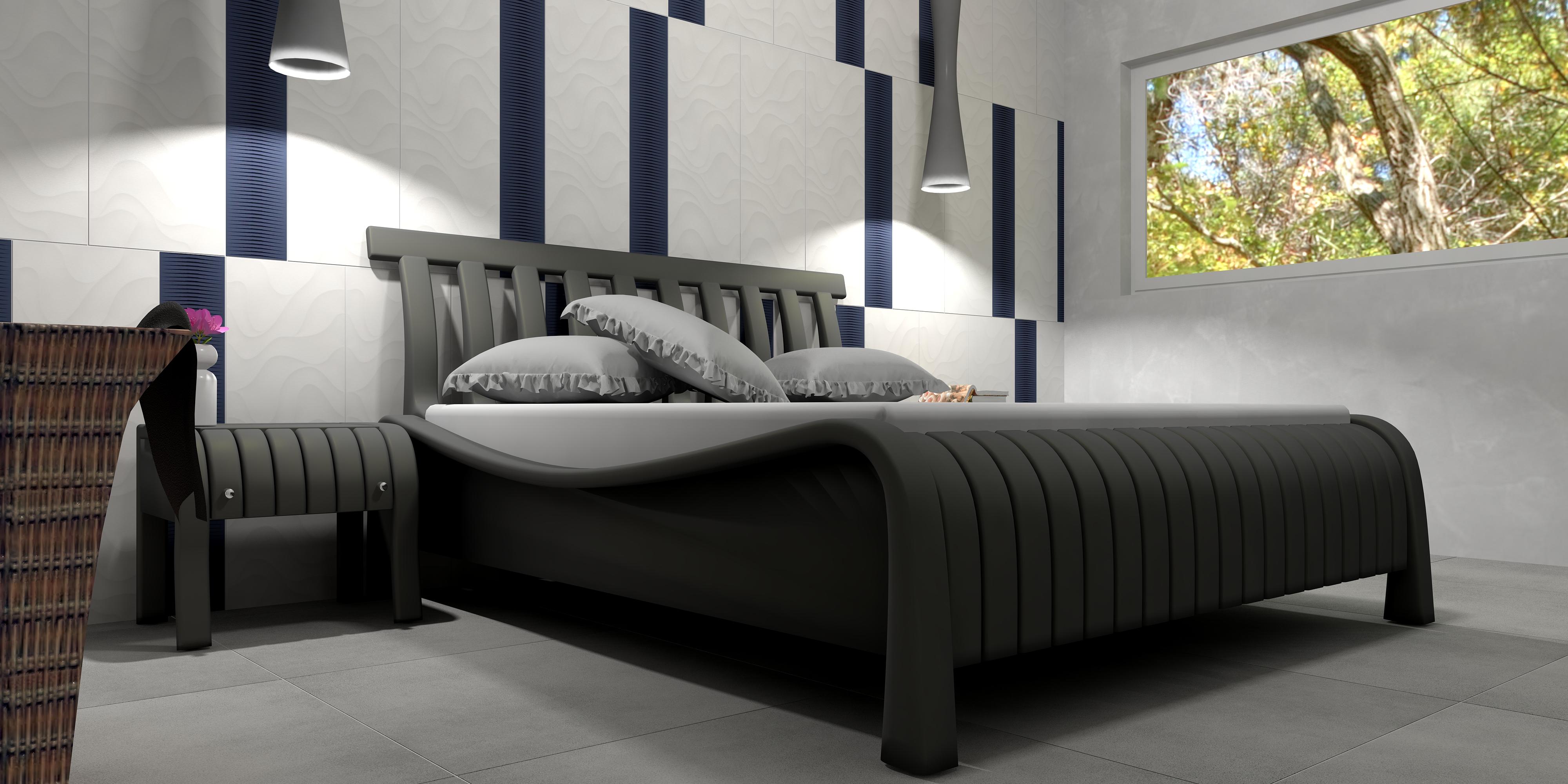Schlafzimmer 2 livingroom by christian schmitt cs - Mobel block schlafzimmer ...