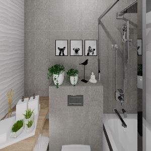 Bathroom Дизайнер Литовченко Ирина (Kerasfera)