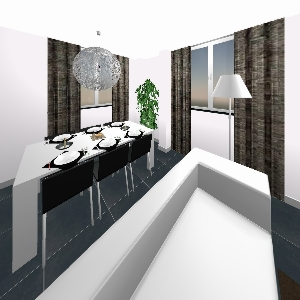 Bathroom Appartement 032 (VKKB render 3D)