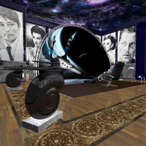 Bathroom Home Cinema PARADISO. Spherical 3D Screen. Super sound (Mykola Kuriansky)