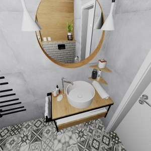 Bathroom HERITAGE-EBRO (ADIK)
