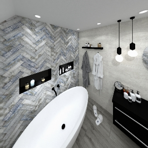 Bathroom colonial_wood (Max)