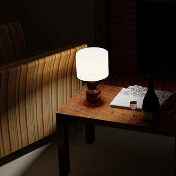 LivingRoom Table lamp (Sergii Buchovskyi)