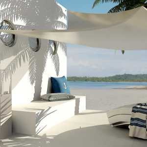 LivingRoom Tropical Beach (Astrid Ewerhardy-Blocher)