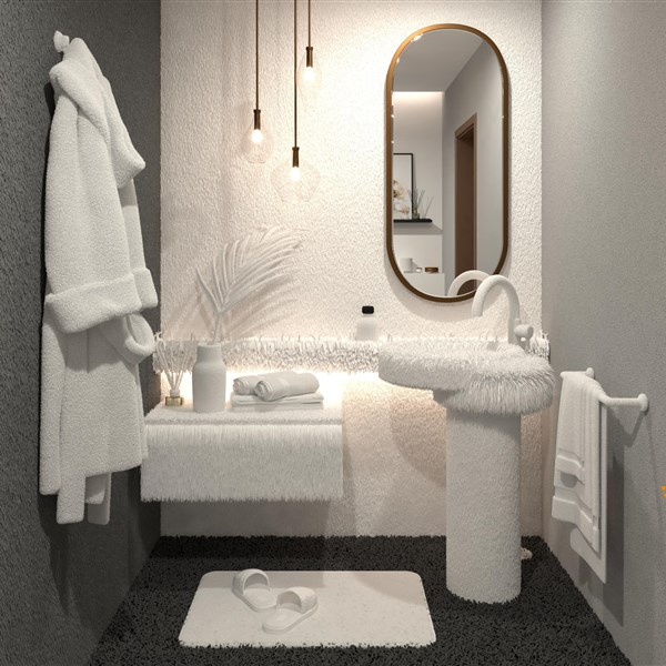 LivingRoom Towel Bath done with Version 2021 Premium+Photo Tuning (Rainer Nissler)