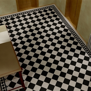 LivingRoom Checkerboard hall (Tom)