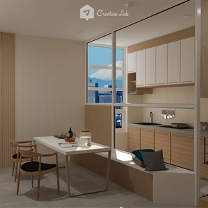 Colby_ Minimalist Dining
