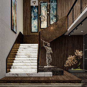 LivingRoom FIQS_STAIRCASE (Creative Lab Malaysia)