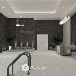 LivingRoom ANIS_SWIMMING POOL (Creative Lab Malaysia)