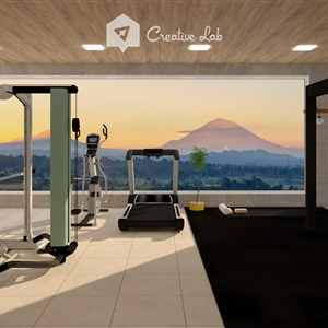 LivingRoom NANA_HOME GYM ROOM (Creative Lab Malaysia)