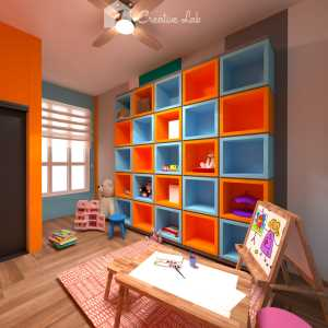 LivingRoom Firdaus_Kids Playroom (Creative Lab Malaysia)