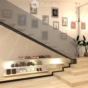 LivingRoom  AIN_UNDER THE STAIRS (Creative Lab Malaysia)