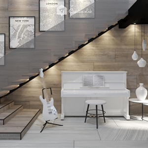 LivingRoom Izzad_Under Stairs (Creative Lab Malaysia)