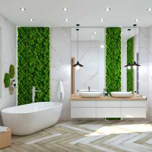 Kitchen Moss Wood Bathroom (ViSoft)