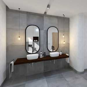 Elegant Grey Bathroom