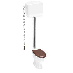 3D Model - High Cistern WC (Tom)