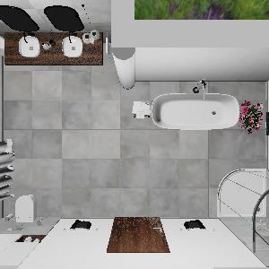 90 Elegant Grey Bathroom (ViSoft)
